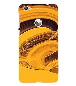 PrintVisa Twister Pattern 3D Hard Polycarbonate Designer Back Case Cover for LeEco Le 1S