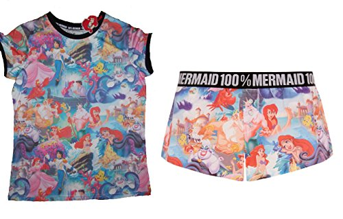 DISNEY BY PRIMARK -  Pigiama due pezzi  - Donna multicolour UK L