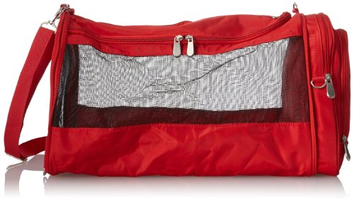 Beyond a Bag Pet Carrier, Red, One Size