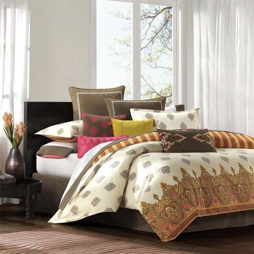 buy cheap echo raja comforter set multi cal king at low