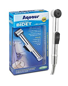 Aquaus Handheld Bidet for Toilet - Made in the USA - NSF Certified - 3 Year Warranty