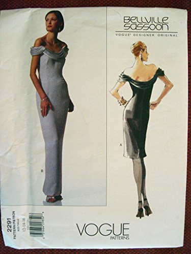vogue-designer-original-bellville-sassoon-misses-dress-sewing-pattern-2291-sz-12-16-out-of-print
