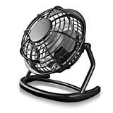 CSL - desk-fan / Fan to connect i.e. with the PC | desk fan / Fan | PC / Notebook | black