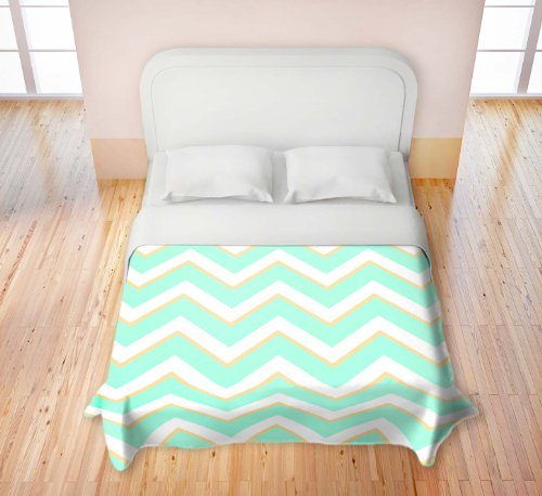 Mint Colored Bedding