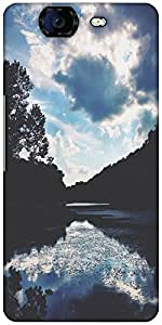 Snoogg Nature Serenity Designer Protective Back Case Cover For Micromax Canva...