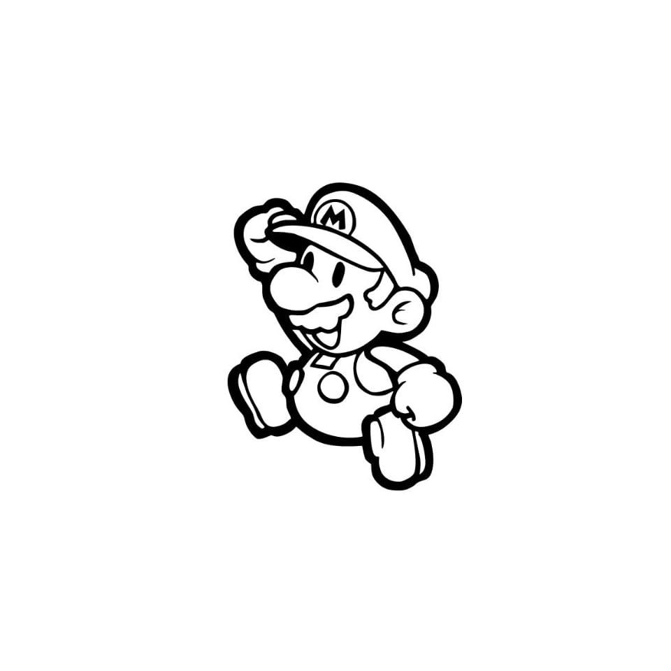 Super Mario Jumping Decal Sticker