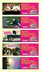 MFM TOYS BFF Best Friends Forever Magnetic Bookmarks Set of 5