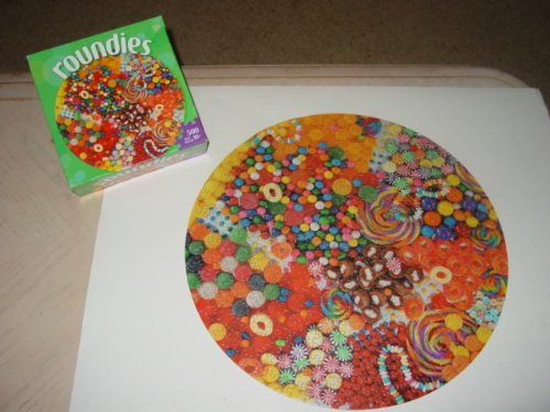 "Milton Bradley ""Roundies"" Puzzle - 500 pieces"