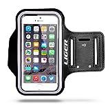 Armband, Liger Sweat Proof Armband Case + Key Holder for iPhone 6S (4.7