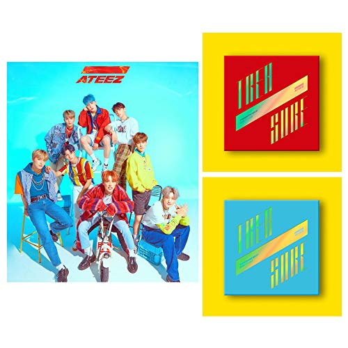 CD : Ateez - Treasure Ep 3:  Illusion / Wave (set)