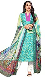 Lebaas Pakistani Style Digital Printed Salwar Suit Dupatta Material (With Discount and Sale Offer)