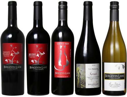 Bergevin Lane Vineyards Romantic Multicourse Mixed Pack, 5 X 750 Ml