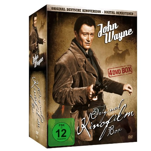 John Wayne - Original Kinofilm Box [4 DVDs]