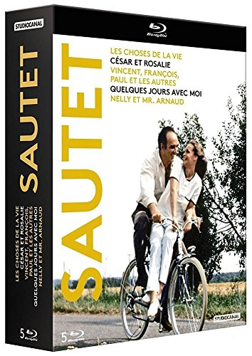 Claude Sautet - Nouveau Coffret Blu-Ray 5 Films en Versions Restaurées [Edizione: Francia]