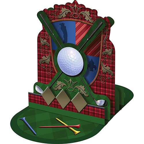 Tee Time Golf Centerpiece by Hallmark - 1