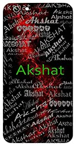 Akshat (Rice Used In Worship) Name & Sign Printed All over customize & Personalized!! Protective back cover for your Smart Phone : Moto X-STYLE
