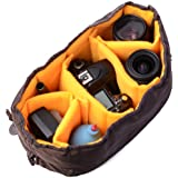 XCSOURCE® Flexible Waterproof Camera Insert Partition Padded Protect Bag Pouch Case for Canon Nikon DSLR SLR Lens LF381
