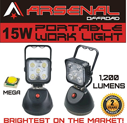 2016-Design-15W-Portable-Rechargeable-ARSENALTM-LED-Work-Light-for-Car-Inspection-Repair-Outdoor-Lighting-SUV-Off-Road-Trucks-Boats-Jeep-RZR-Tractor-Garage-Camping-Light
