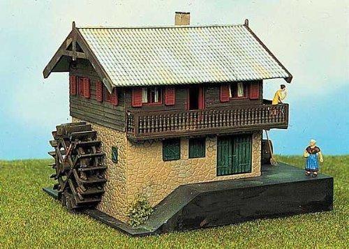 Spur-H0-Bausatz-Haus-mit-Wassermhle