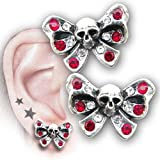 Bow Belles Studs (Pair) Alchemy Gothic Earring