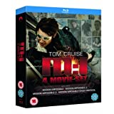 cheap mission impossible blu ray quadrilogy