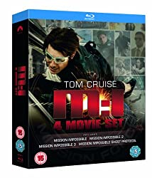 Mission Impossible: Quadrilogy (1-4 Box Set) [Blu-ray] [1996][Region Free]