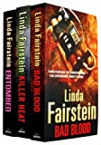 Linda Fairstein Linda Fairstein 3 Books Collection Set Alexandra Cooper Series RRP £20.97 (Killer Heat, Entombed, Bad Blood)