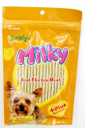 JerHigh Milk Stix Dog Treat, 70 G (Pack Of 6)