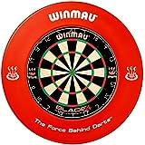 Winmau Dart-Catchring (Dart-Auffangring), rot aus hochwertigem PU, d= a. 68 cm