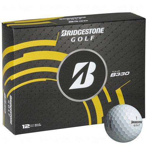 BRIDGESTONE Golfball Tour B 330, White, M, 1b4330