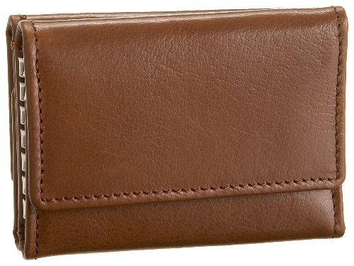 Leatherbay Double Sided Key Case,Antique Tan,one size