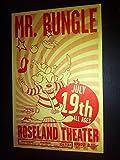 Mr. Bungle Mike Patton Faith No More Rare Original Punk Flyer Concert Poster