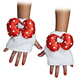 Disguise 88690CHRED Hello Kitty Red Child Glovettes Costume Child