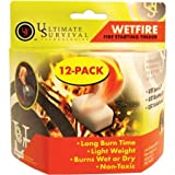 UST Wet Fire Tinder, Pack of 12