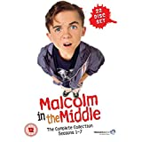 Malcolm in the Middle - Complete Collection (Seasons 1-7) - 22-DVD Box Set ( Malcolm in the Middle - Seasons One to Seven ) [ NON-USA FORMAT, PAL, Reg.2 Import - United Kingdom ]