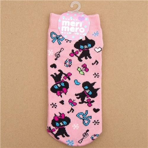 Imagen 1 de calcetines graciosos con gatos negros