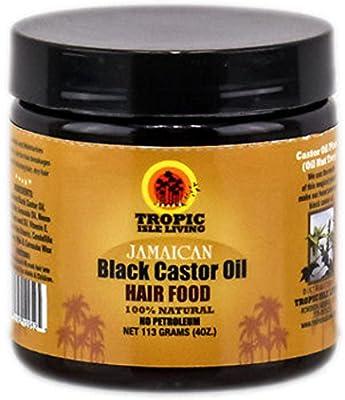 Tropic Isle Living Jamaican Black Castor Oil Hair Food, 4 oz
