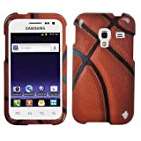 Fits Samsung R820 Galaxy Admire 4G Hard Plastic Snap on Cover Basketball-Sports Collection MetroPCS