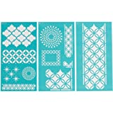 Martha Stewart 32266 Large Stencil, Arabesque