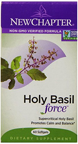 New Chapter Holy Basil Force, 60 Softgels