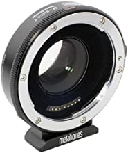 Metabones Canon EF Lens to Blackmagic 25K Cinema Camera T Speed Booster Adapter Micro 43 Mount Black