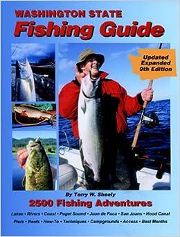 Washington state fishing guide 9th edition terry w for Fishing guides washington state