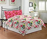 Bombay Dyeing Coral Vine - 100% Cotton - Double Bedsheet DSN-07 - CARROT
