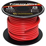 Grand General 55241 Red 14-Gauge Primary Wire