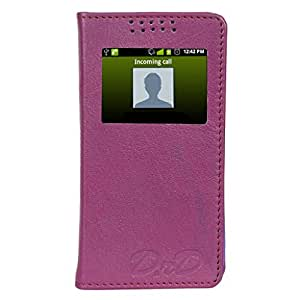 D.rD Flip Cover with screen Display Cut Outs designed for Sony Xperia Z