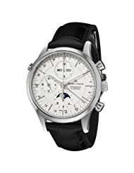 Affordable!! Maurice Lacroix Men's LC6078-SS00113E Les Classiqu Silver Chronograph Dial Watch Limited time