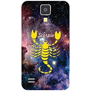 Printland Scorpio Phone Cover For Samsung I9500 Galaxy S4