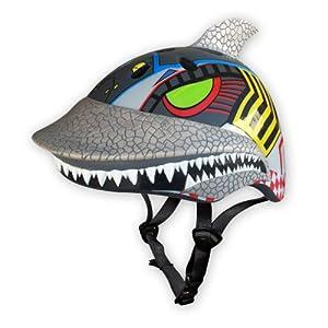 Raskullz Cyber Shark Helmet, 3+ Years, Silver by Raskullz