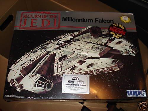 Star Wars Return of The Jedi Millennium Falcon Model Kit