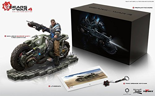 GEARS OF WAR 4 COLLECTOR'S EDITION XBOX ONE NUOVO SIGILLATO NEW SEALED NO GAME